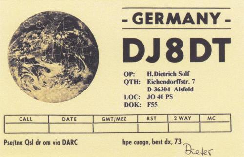 DJ8DT - Dieter